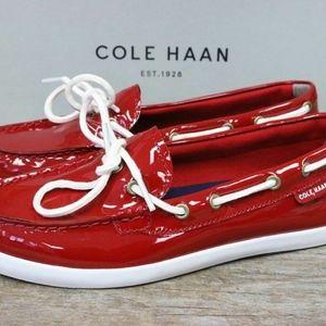Cole Haan Women's Nantucket Red  Moccasins sz 10 B